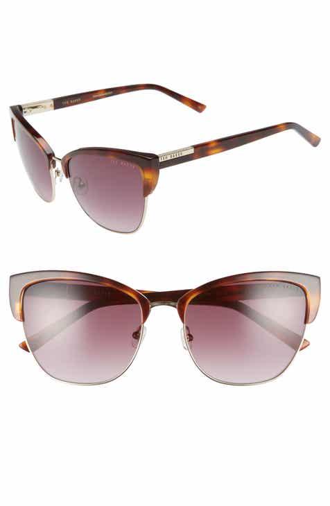648fe234d074a1 Ted Baker London 57mm Cat Eye Sunglasses