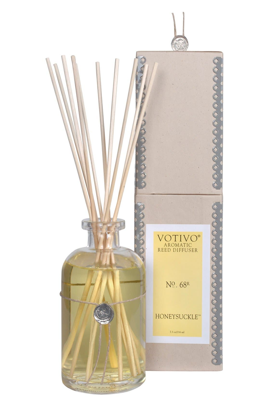 Aromatic Reed Diffuser,                         Main,                         color, Honeysuckle