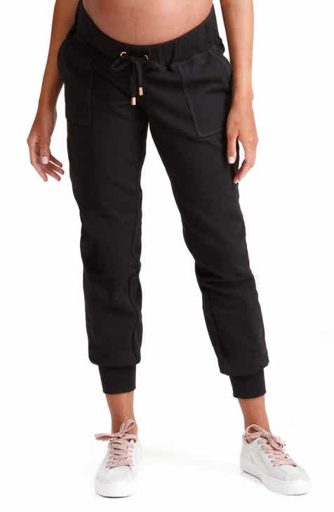 908cacb9d259c Ingrid & Isabel® Knit Active Maternity Jogger Pants