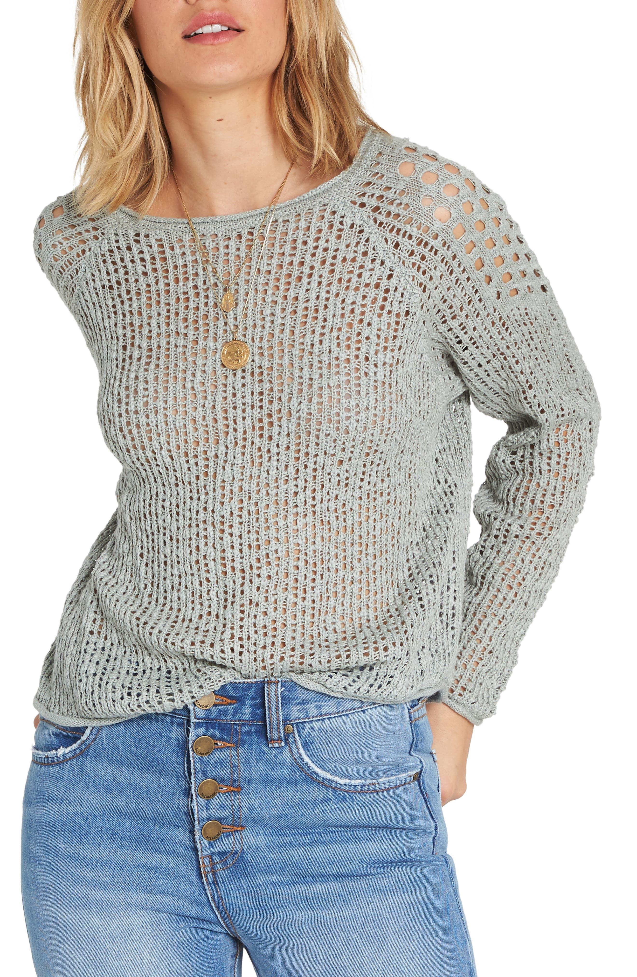 Sea Ya Soon Sweater,                         Main,                         color, Blue Light