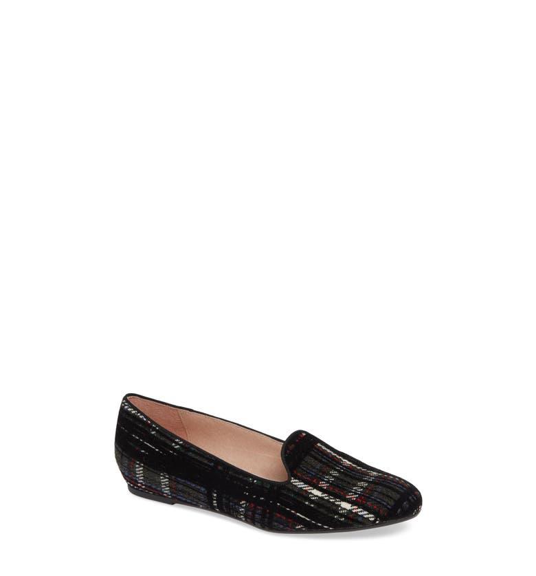Buckingham Loafer,                         Main,                         color, Black Velvet
