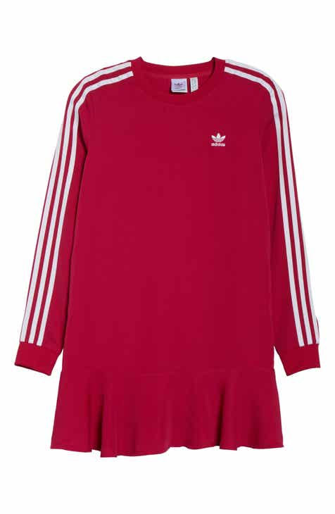 adidas Flare Hem T-Shirt Dress by ADIDAS