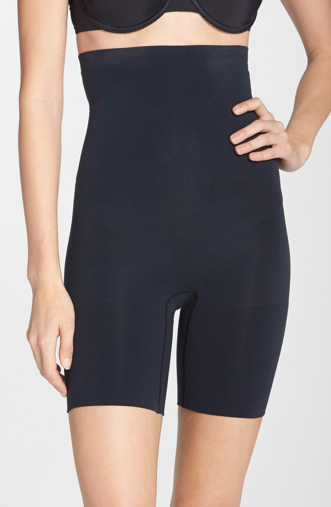 SPANX® Higher Power Mid-Thigh Shaping Shorts (Regular & Plus Size)