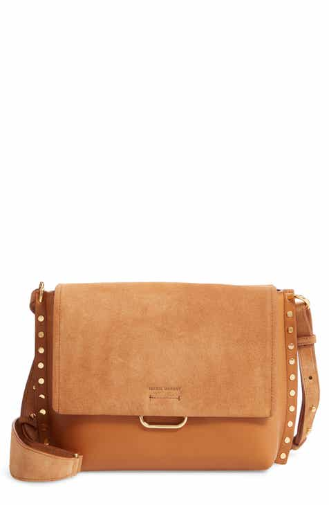 Isabel Marant Asli Leather Crossbody Bag