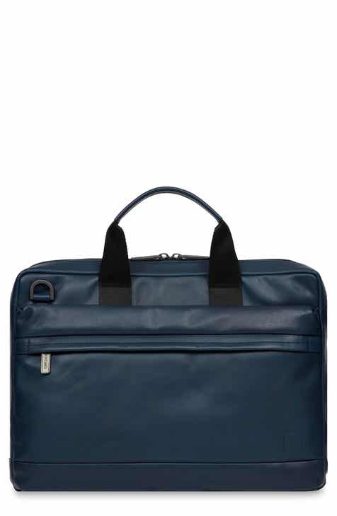 KNOMO London Barbican Foster Leather Briefcase 82c95becc3802