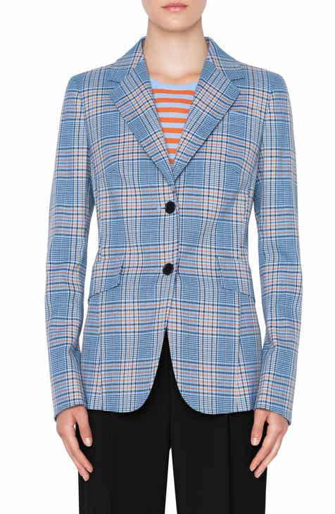 Akris Punto Plaid Blazer By AKRIS PUNTO by AKRIS PUNTO New Design