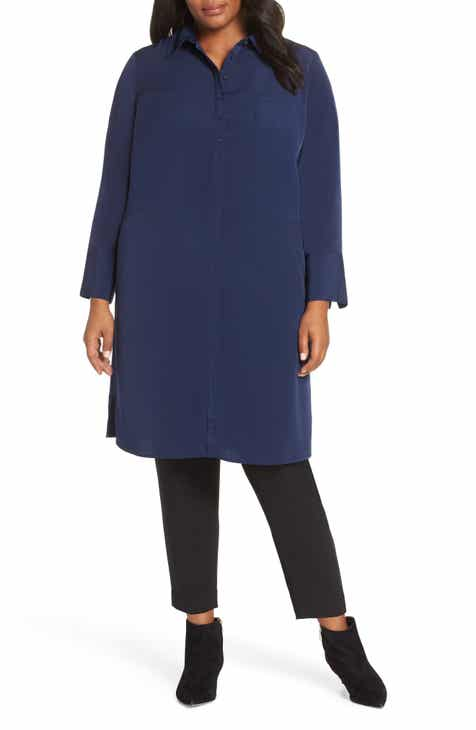 c3964ba873c Sejour Oversize Tunic Dress (Plus Size)