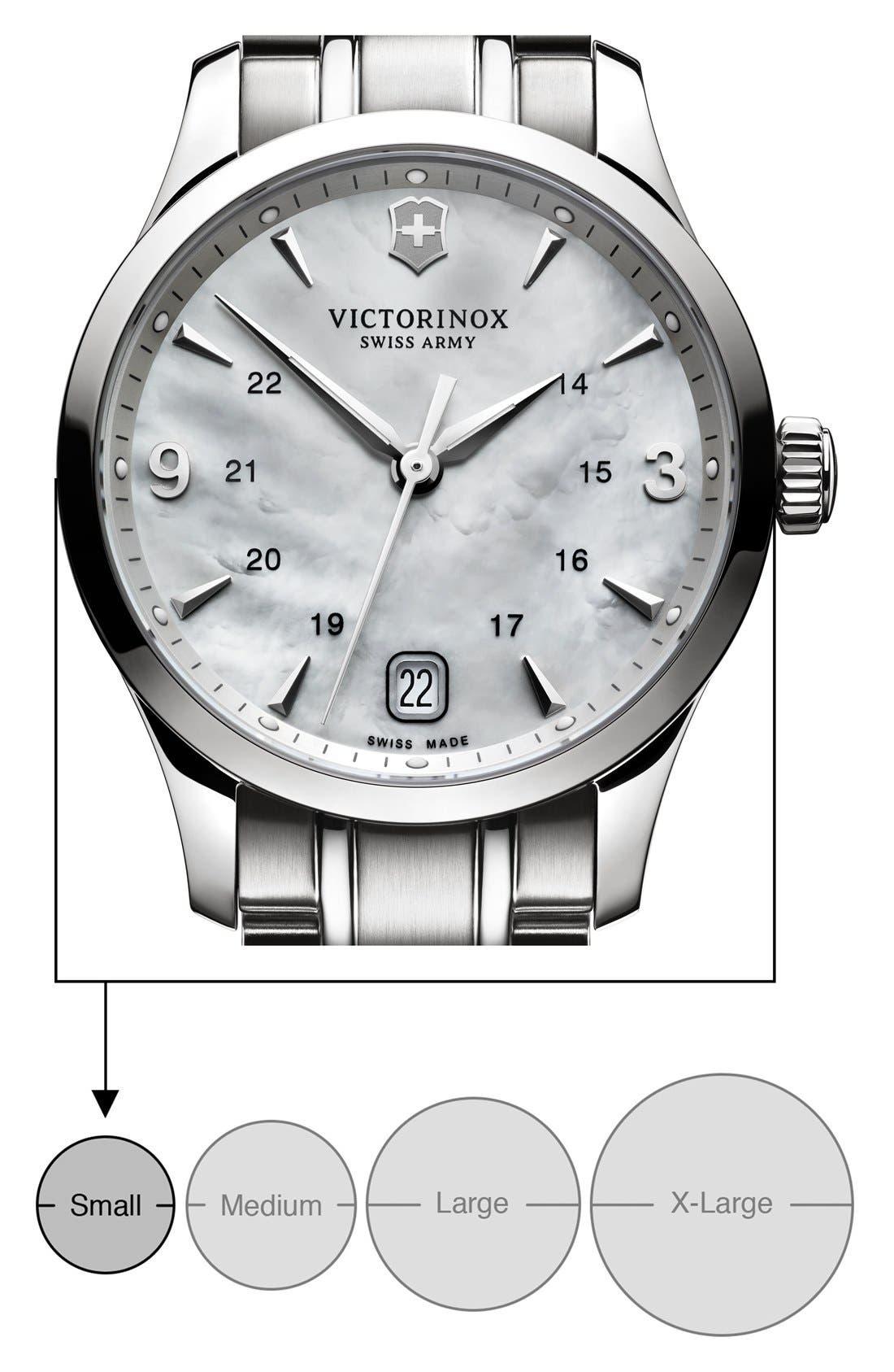Alternate Image 3  - Victorinox Swiss Army® 'Alliance' Bracelet Watch, 30mm