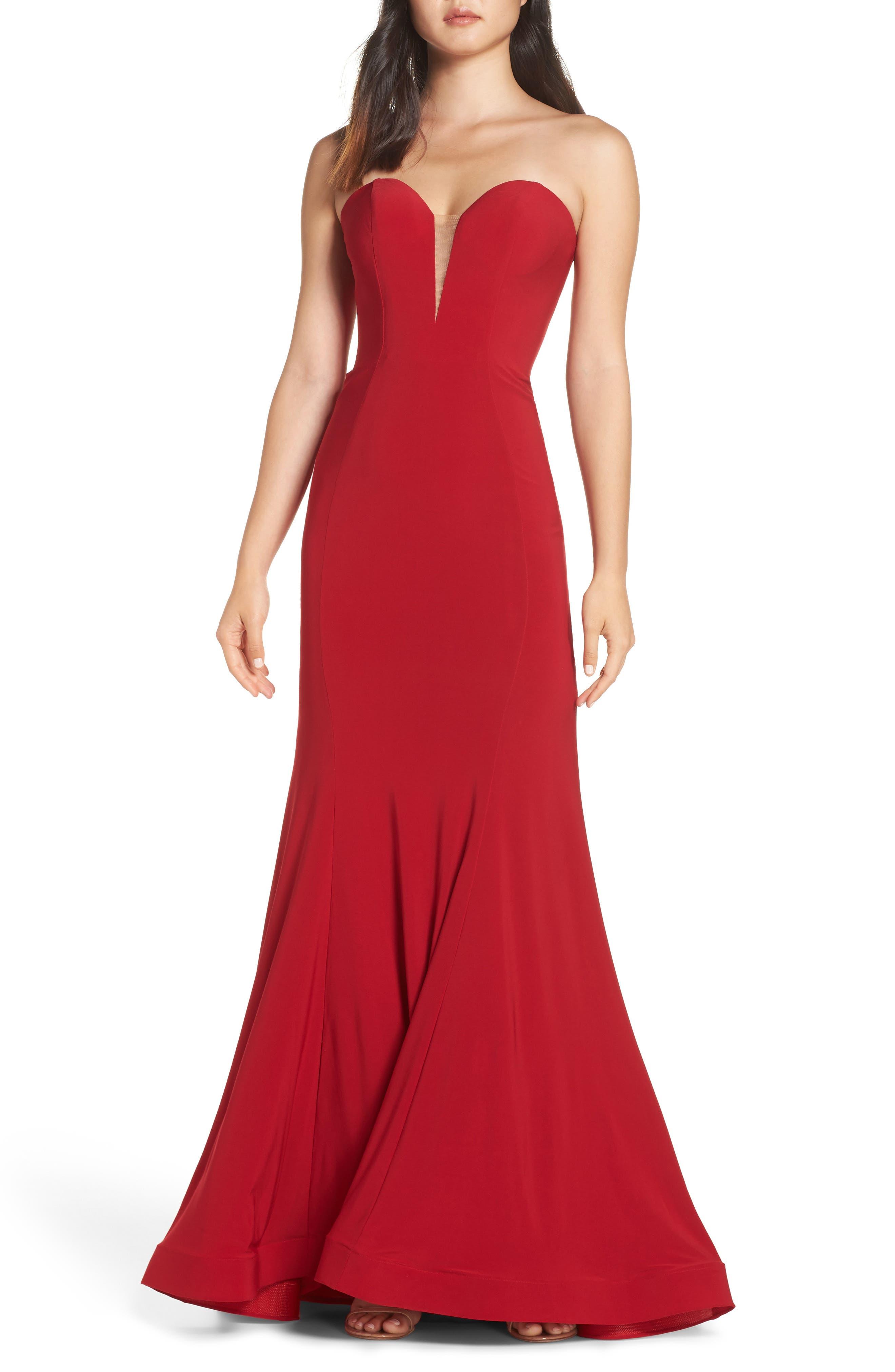 Mac Duggal Red Dress