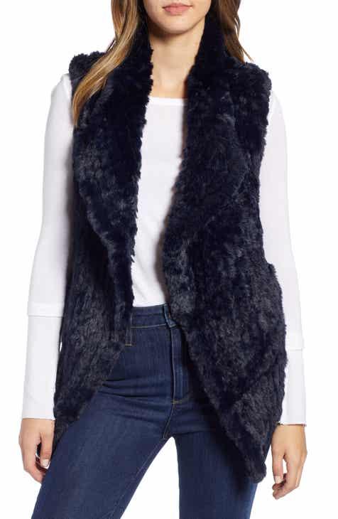 9ac1dfcfc36 Love Token Faux Fur Vest