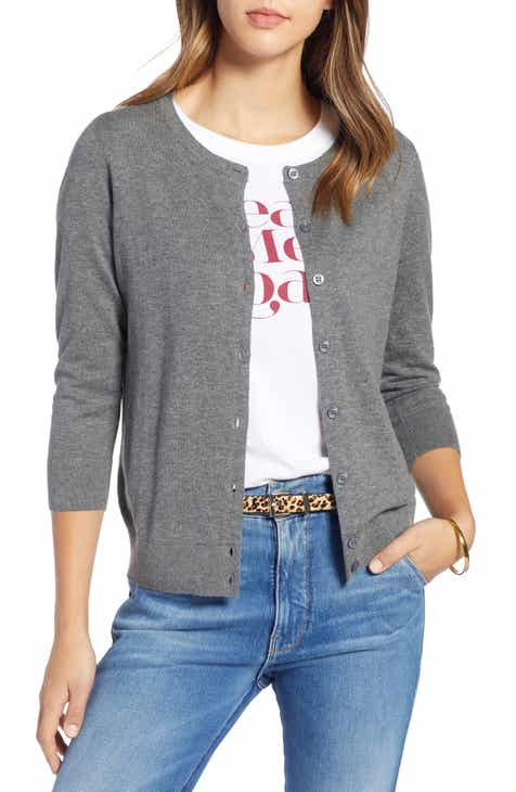 2bc6829f4f 1901 Cotton Blend Cardigan (Regular   Petite)