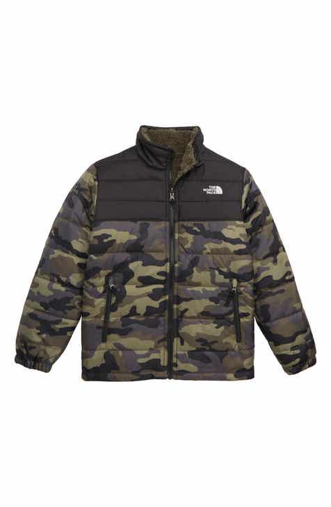 d391c551d21f The North Face Mount Chimborazo Reversible Jacket (Big Boys)