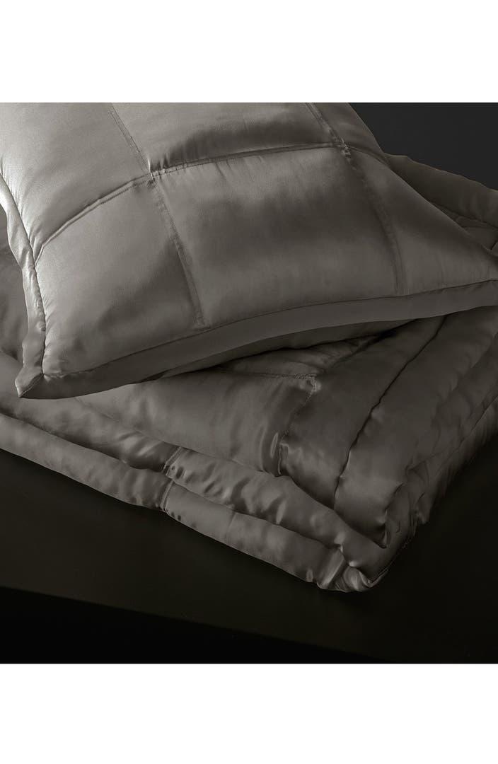 Donna Karan Collection Surface Silk Charmeuse Quilt