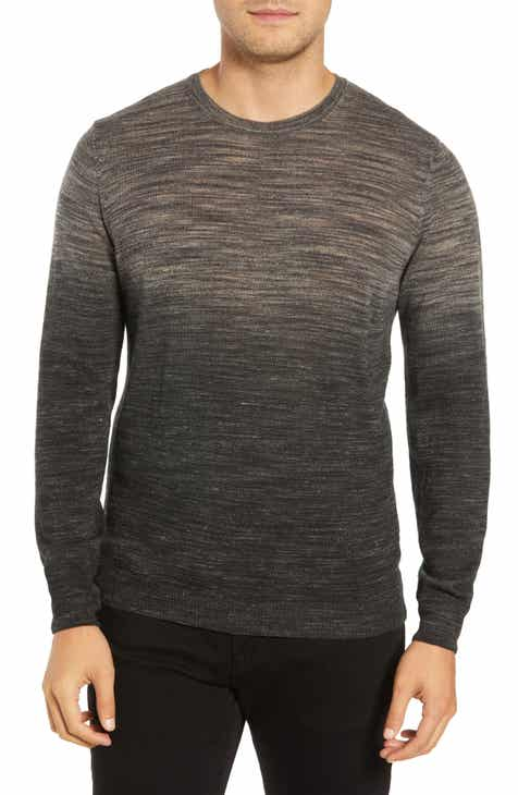Bugatchi Crewneck Wool Blend Sweater