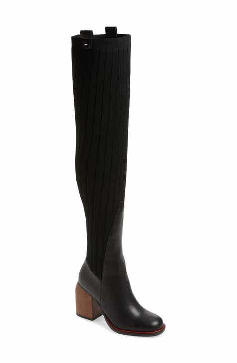 82e442cbc6a Kelsi Dagger Brooklyn Over the Knee Knit Boot (Women)