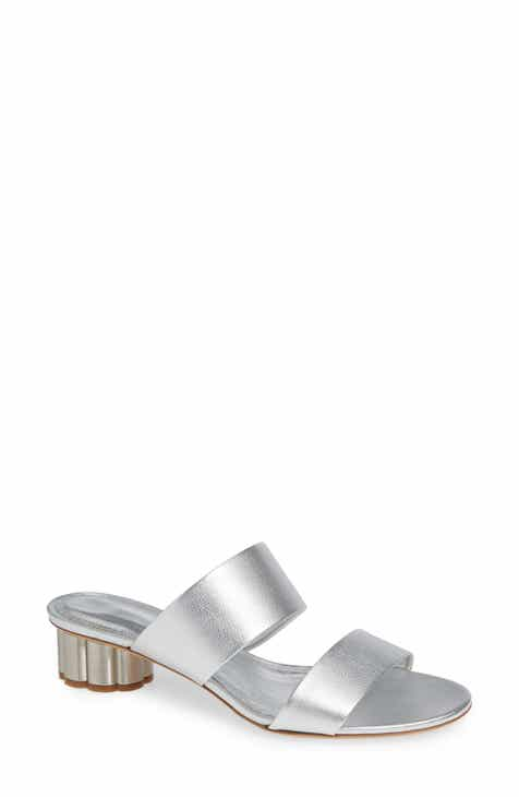 42d3316b7ae6 Salvatore Ferragamo Bellundo Double Band Slide Sandal (Women)