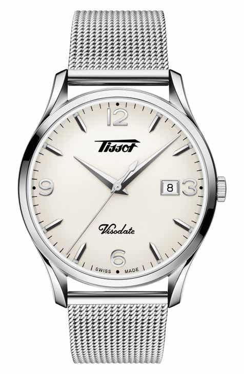 Tissot Heritage Visodate Mesh Strap Watch 4b4216f72