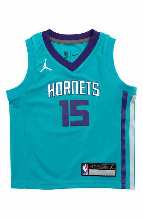 NBA Logo Charlotte Hornets Kemba Walker Basketball Jersey (Toddler Boys)
