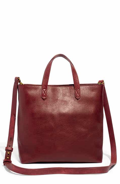 9be9328d29ff Madewell Small Transport Leather Crossbody Tote