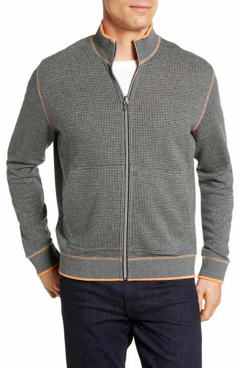 e6f38fe0d9e Robert Graham Ando Classic Fit Zip Front Reversible Jacket