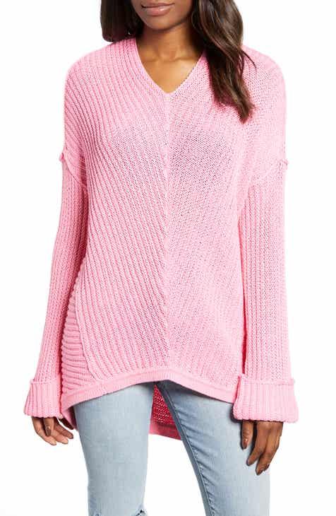 2b6b7fb929 Caslon® Cuffed Sleeve Sweater (Regular   Petite)