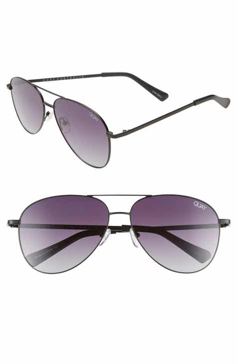 91c5201559 Quay Australia Still Standing 60mm Aviator Sunglasses