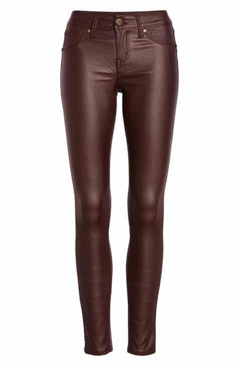 1822 Denim High Waist Coated Skinny Jeans 5b2e720d98