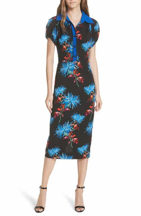DVF Elly Floral Dress