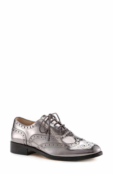 1eb3c30c75d647 Botkier Calista Metallic Wingtip Oxford (Women)