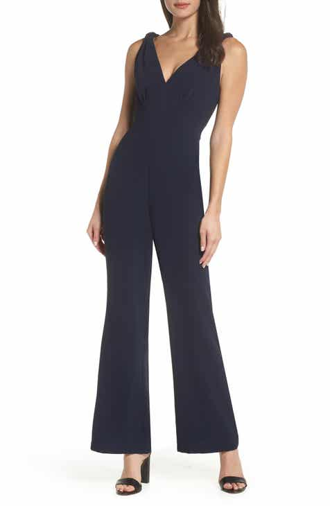 b50ca87f5e0 Harlyn Knotted Wide Leg Jumpsuit