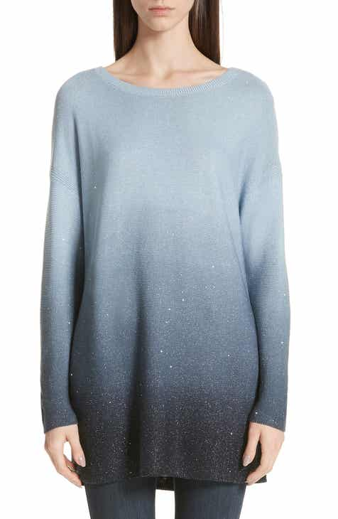 Lafayette 148 New York Sequin Ombré Silk Blend Tunic by LAFAYETTE 148