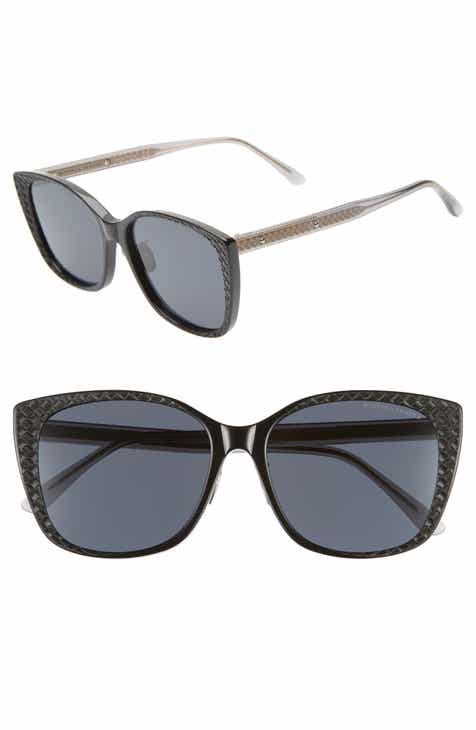 15ab3323dc Bottega Veneta 56mm Cat Eye Sunglasses