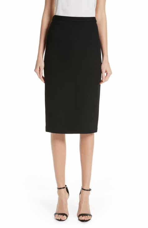St. John Collection Milano Piqué Knit Skirt by ST. JOHN COLLECTION