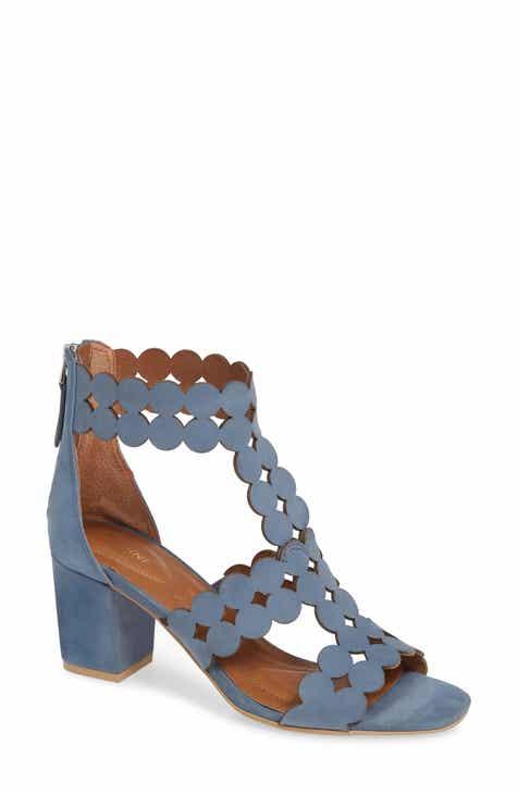 f40e5044273 Sudini Novara Block Heel Sandal (Women)