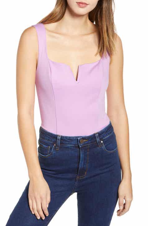 be27e6e6825 ASTR the Label V-Neck Bodysuit