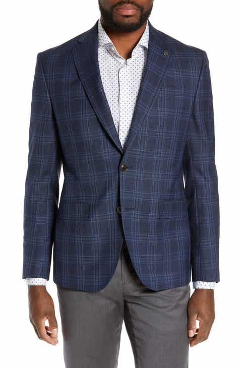 1c1b00ce6 Ted Baker London Roger Extra Slim Fit Plaid Wool Sport Coat