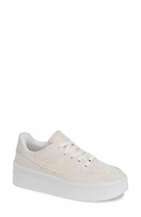 8a638934a7d7 Nike Air Force 1 Sage Low Platform Sneaker (Women)