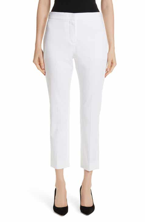 Max Mara Papy Crop Stretch Cotton Pants by MAX MARA