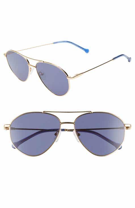 a448b107746 Colors In Optics Breezy 57mm Aviator Sunglasses