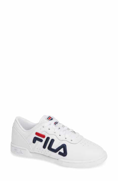 FILA Original Fitness Logo Embroidered Sneaker (Women) 69caf3eede