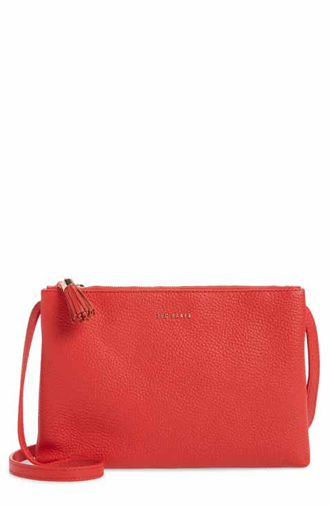 Ted Baker London Maceyy Double Zip Leather Crossbody Bag 415dd89bdfcfb