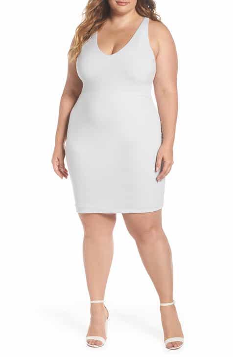 268326dd7fc Leith Mini Body-Con Dress (Plus Size)