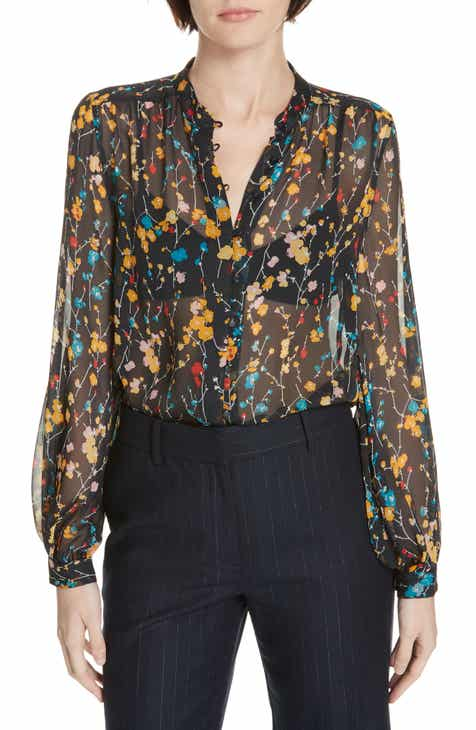87db4755132a6e Equipment Cornelia Print Silk Blouse