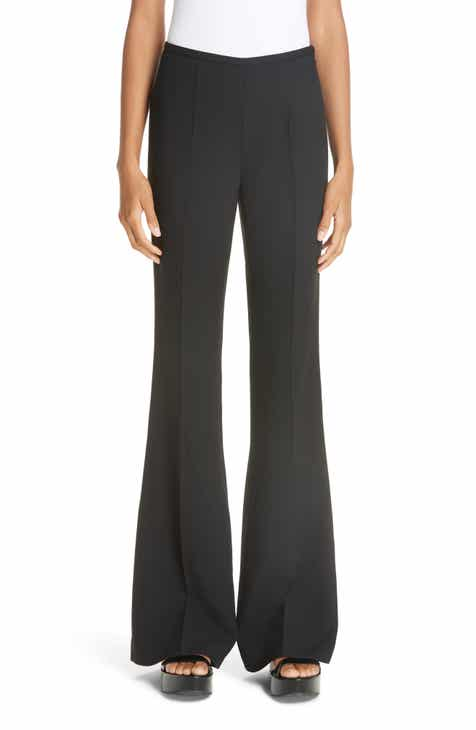 Michael Kors Double Crepe Sable Flare Leg Pants by MICHAEL KORS