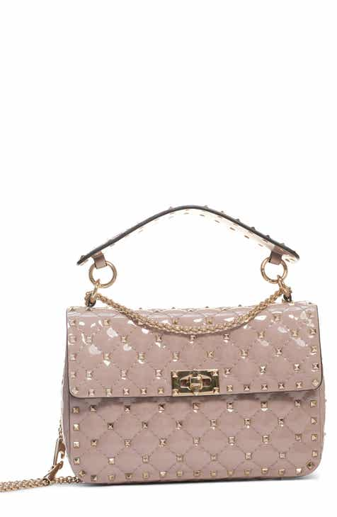 a68de873b5 VALENTINO GARAVANI Medium Rockstud Spike Leather Shoulder Bag