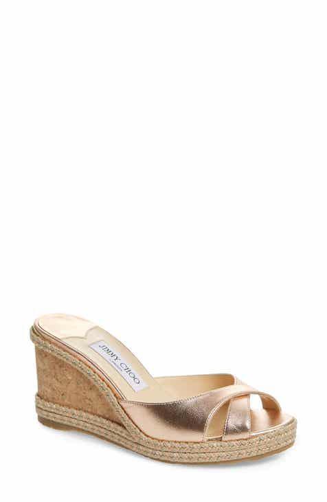f69135a70a5 Jimmy Choo Almer Wedge Slide Sandal (Women)