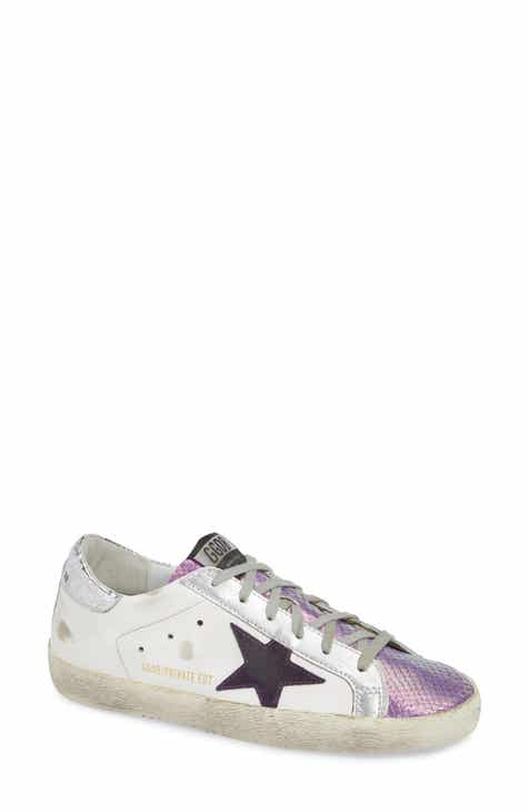 374772128253d Golden Goose Superstar Metallic Sneaker (Women) (Nordstrom Exclusive)