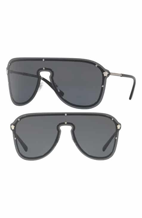 6620a80e4c Versace 144mm Shield Sunglasses
