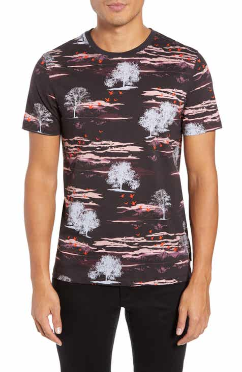 65f43d73f Ted Baker London Happie Slim Fit Print T-Shirt