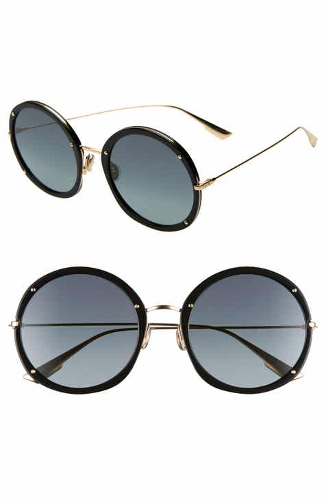 a35c4d4a334a7 Christian Dior Hypnotic 56mm Round Sunglasses